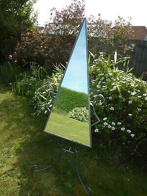 £10 • Buy Freestanding Mirror With Gothic Looking Stand
