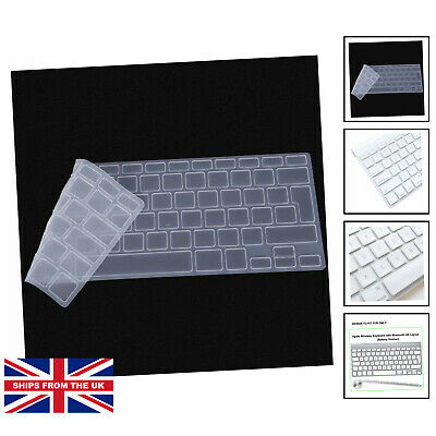 £10.25 • Buy Ultra Thin Silicone Keyboard Protector Cover S.... [FOR APPLE WIRELESS KEYBOARD]