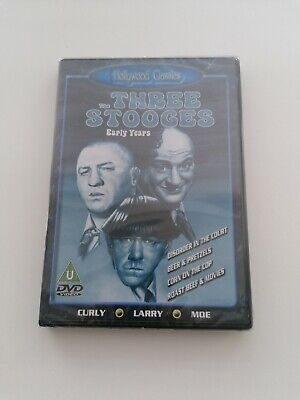 £4 • Buy The Three Stooges Early Years DVD Brand New Sealed Quick Delivery