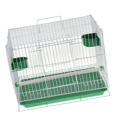 £12.05 • Buy Portable Foldable Metal NEW Finches Canarian Breeder Breeding Bird Cage