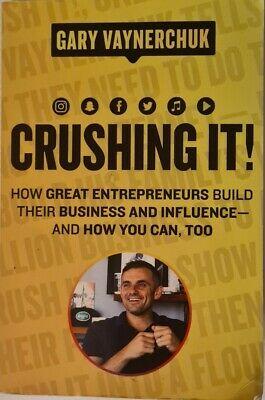 AU29.50 • Buy Crushing It!: How Great Entrepreneurs Build Business And Influence-and How You …