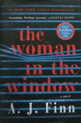 AU16.90 • Buy The Woman In The Window - A.J. Finn - Large Hardcover 25% Bulk Book Discount