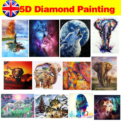 £3.99 • Buy 5D Diamond Painting Embroidery Cross Craft Stitch Arts Draw Kit Mural Home Decor