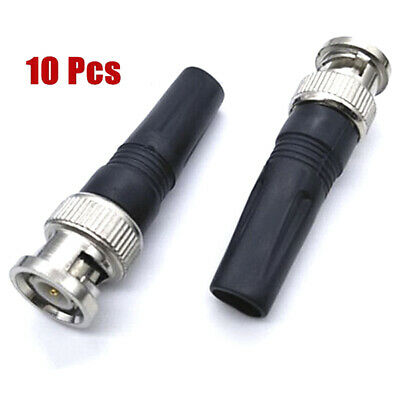 $ CDN6.53 • Buy 10Pcs Bnc Male Connector For Twist-On Coaxial Rg59 Cable CCTV Solderless Plug Nv