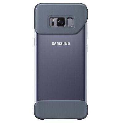 $ CDN3.95 • Buy Purple Protective Cover Case For Galaxy S8+ (Plus) G955F 2 Piece Design Secure