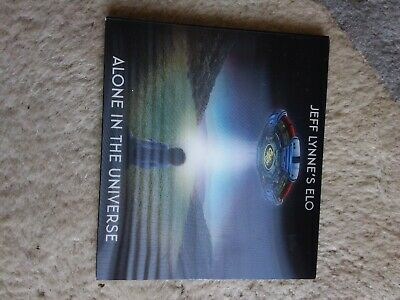£3.99 • Buy Jeff Lynne Elo - Alone In The Universe - Holographic Cover Cd
