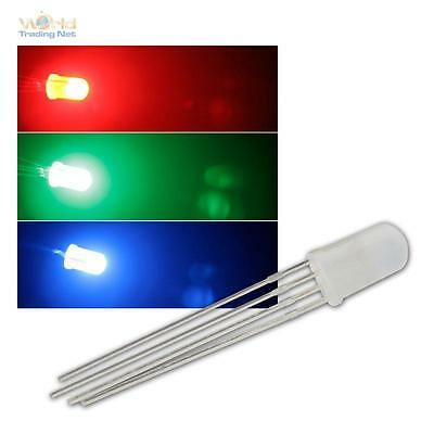$ CDN12.60 • Buy 50 LED 5mm RGB Diffuse,4-polig Controllable,Diffuse Controllable Leds 3-Chip