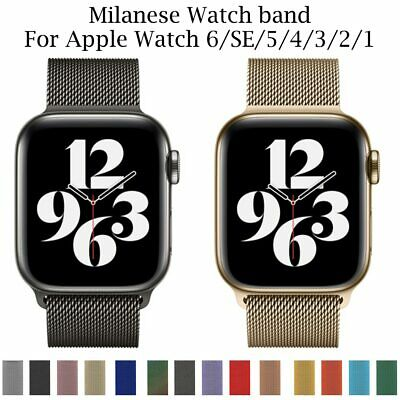 AU5.30 • Buy Milanese Loop Strap For Apple Watch Series 6/SE/5/4 Band 40/44mm Iwatch 38/42MM