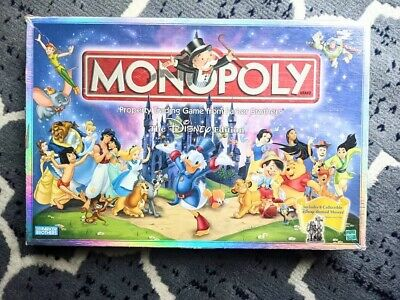 £16.30 • Buy MONOPOLY The DISNEY Edition 2001 Parker Brothers Classic Board Game Mickey Mouse