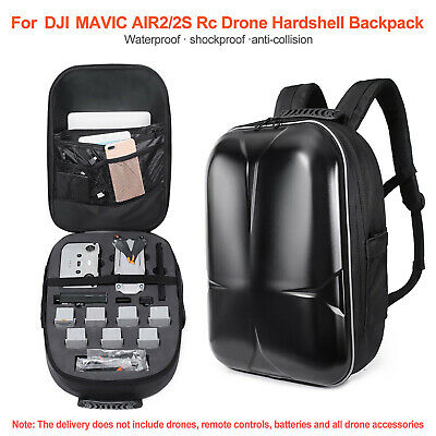 AU98.64 • Buy Shell Carrying Case Drone Shockproof Backpack Bag For DJI Mavic Air 2 / AIR 2S