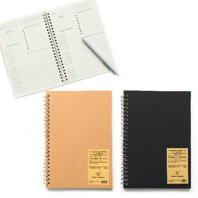 AU12.89 • Buy NEW A5 Bullet Journal Notebook Hardcover Cardboard Grid Dotted Spiral Diary