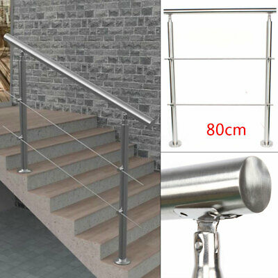 £60.99 • Buy Stainless Steel Grab Rail Mobility Handrail Aid Garden Steps Safety Balustrade