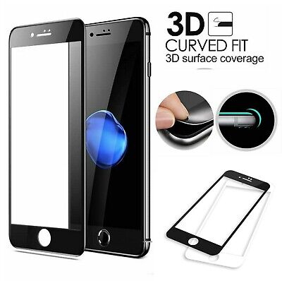 £2.59 • Buy 3D Full Cover Tempered Glass Screen Protector Film For IPhone 6 6S 7 8 7 8 PLUS