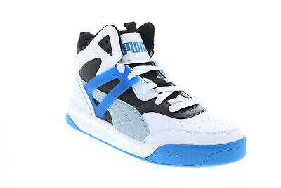 AU95.12 • Buy Puma Backcourt Mid 37413910 Mens White Basketball Inspired Sneakers Shoes