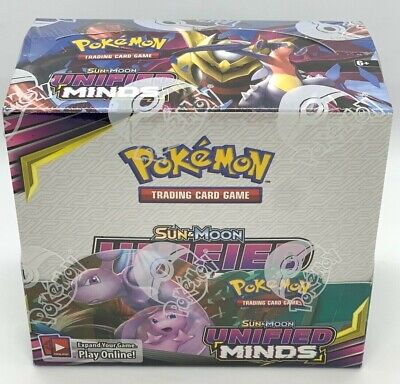 $449.95 • Buy Pokemon TCG: Sun & Moon Unified Minds Booster Box (36 Packs) Factory SEALED