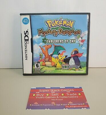 $115.46 • Buy Pokemon Mystery Dungeon: Explorers Of Sky (DS, 2009) Complete