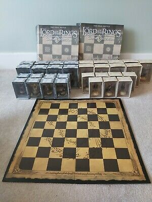£228 • Buy Lord Of The Rings Eaglemoss Chess Set 1 Complete