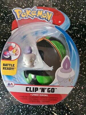 £5.99 • Buy Pokemon Clip 'n' Go Figure  - Litwick With Meat Ball  - Brand New Sealed Pack