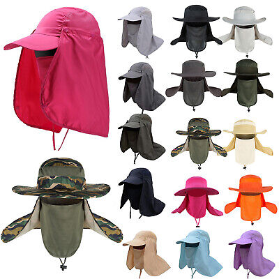 £5.39 • Buy Legionnaire Sun Hat With Neck Flap Face Cover UV Protection Fishing Workwear Cap