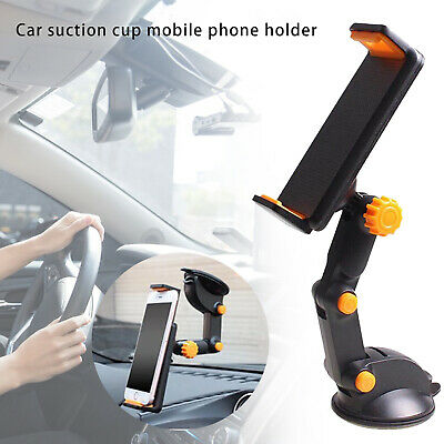 £10.33 • Buy Car GPS Windshield Mount Holder For IPhone 7-11  IPad Mini/2/3/4/Air Tablet 36°