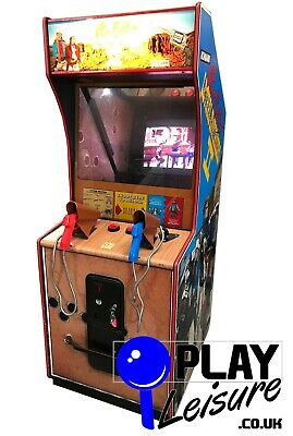 £1050 • Buy Lethal Enforcers II Gun Fighters Arcade Machine - Ready To Play - Games Room
