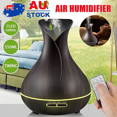 AU29.35 • Buy Aroma Aromatherapy Diffuser AU Essential Oil Ultrasonic Air Humidifier Purifier