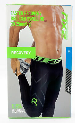 £32.36 • Buy 2XU Compression Refresh Recovery Tights G2 Men's Large Black Full Length