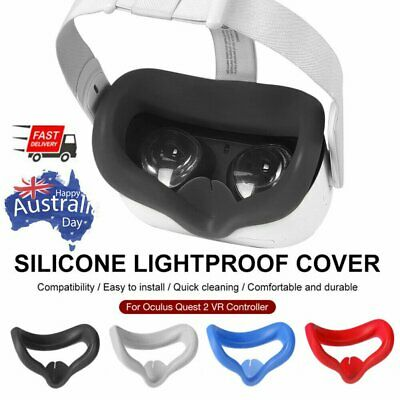 AU11.63 • Buy For Oculus Quest 2 VR Headset Accessories Helmet Eye Face Mask Cover
