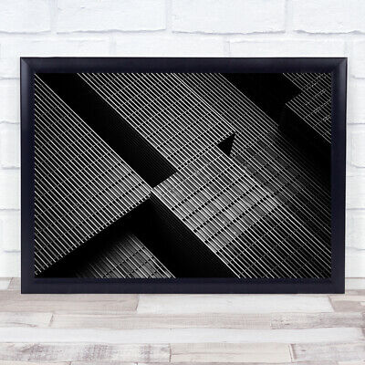£35.99 • Buy The Big Building Architecture Abstract Blocks Tetris Shapes Wall Art Print