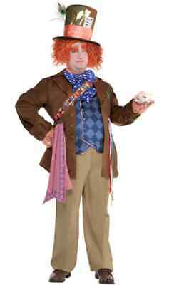 $50 • Buy Adult Mad Hatter Costume Standard Size - Alice Through The Looking Glass
