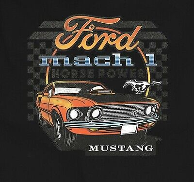 $16.99 • Buy    Ford Mustang Mach 1 Horsepower Small To 6 X L T Shirt Pick Size