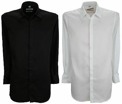 £12.99 • Buy Bellissimo Luxury Modern Fit Wrinkle Free Double Cuff Shirt