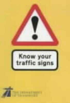 £2.19 • Buy (Very Good)-Know Your Traffic Signs (Hmso) (Paperback)-Dept.of Transport-0115516