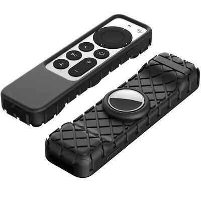 AU11.96 • Buy 2In1 Silicone Remote Protective Case Apple TV 4K 2nd Gen Siri 2021 Air Tag Cover