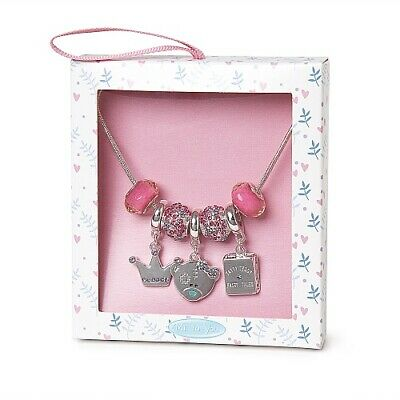 £12.99 • Buy Me To You Tatty Teddy Silver Plated Princess Charm Necklace