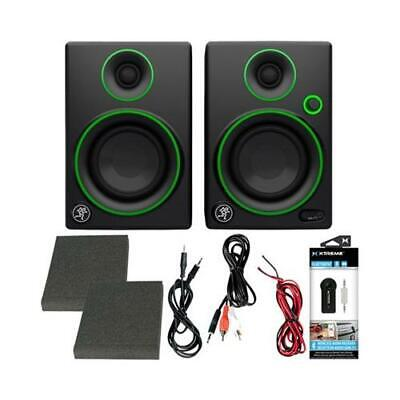 $89.99 • Buy Mackie CR3 3  Creative Reference Multimedia Monitors + Audio Receiver Kit