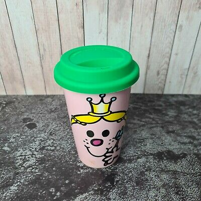 £9.95 • Buy Little Miss Princess Ceramic Thermal Travel Mug With Non-Spill Silicone Lid