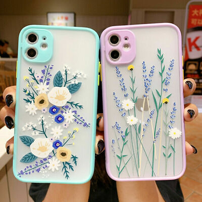 AU11.99 • Buy For IPhone 11 12 Pro Max SE XS XR 8 7 Cute Flower Shockproof TPU Soft Case Cover