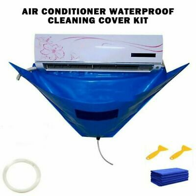 AU32.90 • Buy Waterproof Air Conditioner Washing Cover Cleaning Dust Home Protector Cleaner