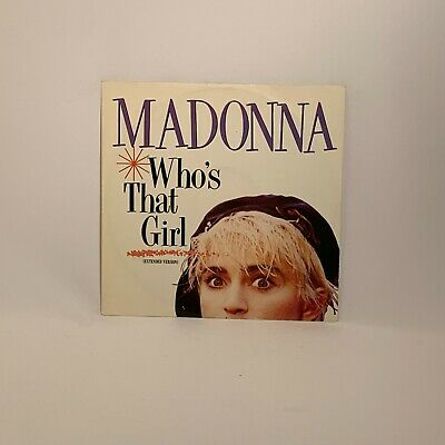 £3 • Buy Madonna – Who's That Girl (Extended Version) - 12  Single (W8341T)