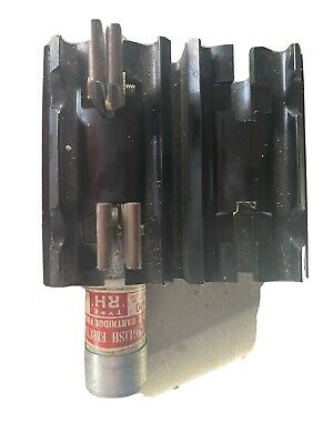 £10 • Buy Cut Out Fuse Carrier 60 Amp Old Style Complete With 60 Amp Service Fuse