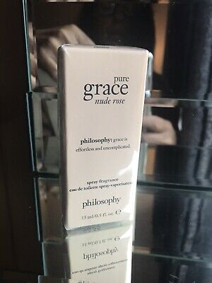 £12 • Buy Philosophy Pure Grace Nude Rose 15ml Edt Spray For Her New Boxed & Sealed