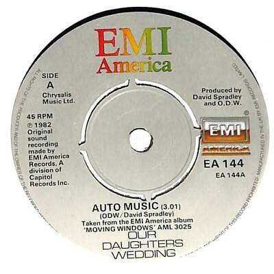 £3.99 • Buy Our Daughter's Wedding - Auto Music - 7  Record Single