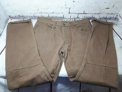 £14.99 • Buy Crosshatch 55 Sottero Slimfit Brown Chinos  Actual Size  W34 L30   Used VVGC