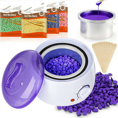$22.99 • Buy Professional Wax Warmer Heater Hair Removal Depilatory Home Waxing Kit Beans