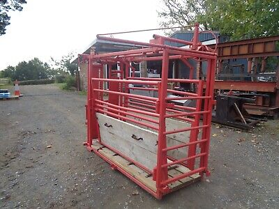 £2394 • Buy Rancher Squeeze Cattle Crush With Self Locking Yoke £1995+vat