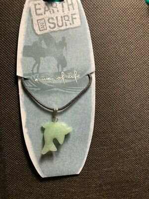 £1.89 • Buy Earth And SurfGreen Dolphin Necklace Summer Beach.