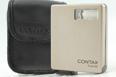 $ CDN94.40 • Buy [MINT Tested] Contax TLA140 Shoe Mount Flash W/ Case For G1 G2 From JAPAN #110