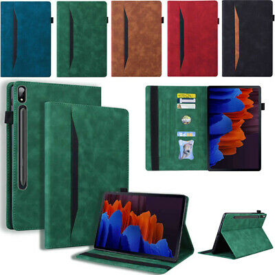 AU19.99 • Buy For Samsung Galaxy Tab A 8.0 A7 S7 S7+ Plus Tablet Leather Flip Stand Case Cover