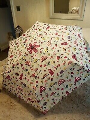 £28 • Buy Cath Kidston Umbrella With Mushroom And Flower......design Discontinued Bnwot